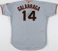 Baseball Collectibles:Uniforms, Circa 2001 Andres Galarraga Game Worn & Signed San Francisco Giants Jersey....