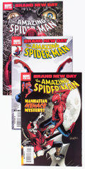 Modern Age (1980-Present):Superhero, The Amazing Spider-Man #551-690 Box Lot (Marvel, 2008-12)Condition: Average VF....