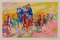 Prints:Contemporary, LeRoy Neiman (1921-2012). Homage to Remington, 1973.Screenprint in colors on paper. 18 x 27-3/4 inches (45.7 x 70.5cm)...