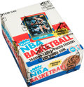Basketball Cards:Unopened Packs/Display Boxes, 1986 Fleer Basketball Wax Box With 36 Unopened Packs. ...