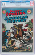 Golden Age (1938-1955):Non-Fiction, Picture Stories From American History #2 Gaines File Pedigree 8/11(EC, 1946) CGC NM/MT 9.8 Off-white to white pages....