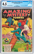 Golden Age (1938-1955):Superhero, Amazing Mystery Funnies #24 (Centaur, 1940) CGC VG+ 4.5 Off-whiteto white pages....