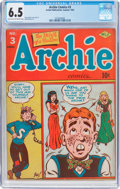 Golden Age (1938-1955):Humor, Archie Comics #3 (Archie, 1943) CGC FN+ 6.5 Light tan to off-white pages....