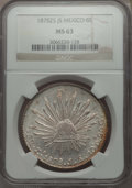 Mexico, Mexico: Republic 8 Reales 1878 Zs-JS MS63 NGC,...