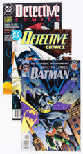 Modern Age (1980-Present):Superhero, Detective Comics Box Lot (DC, 1988-2005) Condition: AverageVF/NM....