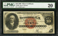 Large Size:Silver Certificates, Fr. 290 $10 1880 Silver Certificate PMG Very Fine 20.. ...