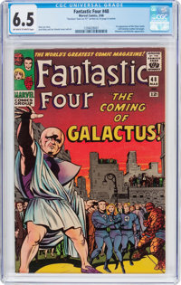 Fantastic Four #48 (Marvel, 1966) CGC FN+ 6.5 Off-white to white pages