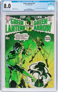 Bronze Age (1970-1979):Superhero, Green Lantern #76 (DC, 1970) CGC VF 8.0 Off-white to whitepages....