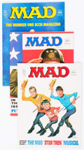 Magazines:Mad, MAD Box Lot (EC, 1970-88) Condition: Average NM-....