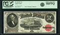 Large Size:Legal Tender Notes, Fr. 60 $2 1917 Legal Tender PCGS Choice About New 58PPQ.. ...