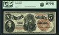 Large Size:Legal Tender Notes, Fr. 72 $5 1880 Legal Tender PCGS Extremely Fine 45PPQ....