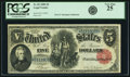 Large Size:Legal Tender Notes, Fr. 82 $5 1880 Legal Tender PCGS Very Fine 25.. ...
