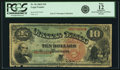 Large Size:Legal Tender Notes, Fr. 96 $10 1869 Legal Tender PCGS Fine 12 Apparent.. ...