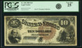 Large Size:Legal Tender Notes, Fr. 108 $10 1880 Legal Tender PCGS Very Fine 25.. ...