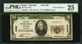 National Bank Notes:Colorado, Hugo, CO - $20 1929 Ty. 1 The First NB Ch. # 8489. ...