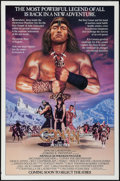 "Movie Posters:Action, Conan the Destroyer (Universal, 1984). Rolled, Very Fine-. OneSheet (27"" X 41"") Advance. Action.. ..."
