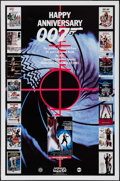 "Movie Posters:James Bond, Happy Anniversary 007: 25 Years of James Bond (MGM/UA TelevisionProductions, 1987). Television One Sheet (27"" X 41"") Advanc..."
