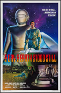 "Movie Posters:Science Fiction, The Day the Earth Stood Still (Killian Enterprises, R-1994). OneSheet (27"" X 41"") SS. Science Fiction.. ..."