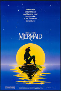 """The Little Mermaid & Other Lot (Buena Vista, 1989). One Sheets (2) (27"""" X 41""""). DS Advance. Animation..."""