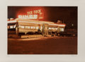 Fine Art - Work on Paper:Print, John Baeder (b. 1938). Tick Tock Diner, 1980. Screenprint incolors. 17 x 24-3/8 inches (43.18 x 61.9 cm) (image). 22 x ...