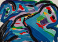 Prints:Contemporary, Karel Appel (1921-2006)Floating in a Landsc...