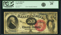 Large Size:Legal Tender Notes, Fr. 134 $20 1880 Legal Tender PCGS Very Fine 20.. ...