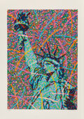 Prints:Contemporary, Greg Constantine (b. 1938)Saint Liberty...