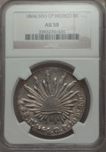 Mexico, Mexico: Republic 8 Reales 1864 Do-CP AU58 NGC,...