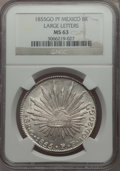 Mexico, Mexico: Republic NGC-Certified 8 Reales Pair,... (Total: 2 coins)