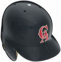 Baseball Collectibles:Others, 1994-96 Chili Davis California Angels Game Worn Batting Helmet....