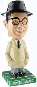 """Football Collectibles:Others, Vince Lombardi Bosley Bobbers Oversized 12"""" Bobble Head...."""