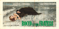 "Rocco and His Brothers (Titanus-Les Films Marceau, 1960). Italian Poster (115"" X 55""). Maro Artwork"