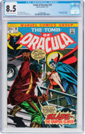 Bronze Age (1970-1979):Horror, Tomb of Dracula #10 (Marvel, 1973) CGC VF+ 8.5 Off-white to whitepages....