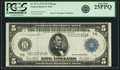 Fr. 871a $5 1914 Federal Reserve Note PCGS Very Fine 25PPQ