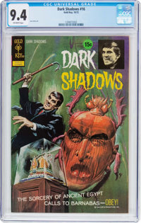 Dark Shadows #16 File Copy (Gold Key, 1972) CGC NM 9.4 Off-white pages