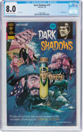 Bronze Age (1970-1979):Horror, Dark Shadows #19 (Gold Key, 1973) CGC VF 8.0 Off-white to whitepages....