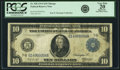 Fr. 928 $10 1914 Federal Reserve Note PCGS Very Fine 20 Apparent