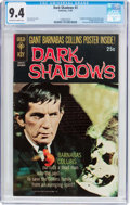 Silver Age (1956-1969):Horror, Dark Shadows #3 (Gold Key, 1969) CGC NM 9.4 Off-white to whitepages....