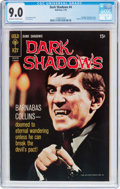Silver Age (1956-1969):Horror, Dark Shadows #4 (Gold Key, 1970) CGC VF/NM 9.0 Off-white to white pages....