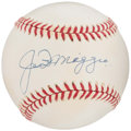Autographs:Baseballs, Joe DiMaggio Single Signed Baseball. ...