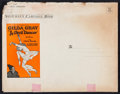 """Movie Posters:Drama, The Devil Dancer (United Artists, 1927). Pressbook (18 Pages, 9.5"""" X 12""""). Drama.. ..."""