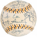 Autographs:Baseballs, 1994 American League All Star Team Signed Baseball (25 Signatures)....