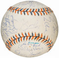Autographs:Baseballs, 1992 National League All Star Team Signed Baseball (29 Signatures)....