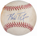 Autographs:Baseballs, Mark Teixeira Single Signed Game Used Baseball. ...