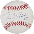 Autographs:Baseballs, David Robertson Single Signed Baseball. ...