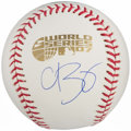 Autographs:Baseballs, Curt Schilling Single Signed Baseball - 2007 World Series. ...