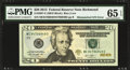 Error Notes:Mismatched Serial Numbers, Fr. 2097-E $20 2013 Federal Reserve Note. PMG Gem Uncirculated 65EPQ.. ...