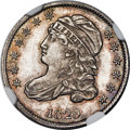 Bust Dimes, 1829 10C Extra Large 10C, JR-1, High R.4, MS64 NGC....