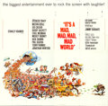"Movie Posters:Comedy, It's a Mad, Mad, Mad, Mad World (United Artists, 1963). Six Sheet(79"" X 81"") Jack Davis Artwork.. ..."