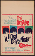 """Movie Posters:Rock and Roll, A Hard Day's Night (United Artists, 1964). Window Card (14"""" X 22""""). Rock and Roll.. ..."""